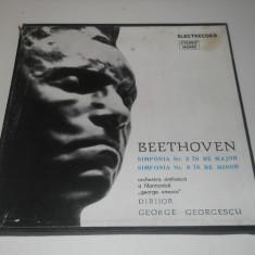 Beethoven - Simfonia 2 si 9 - 2 discuri - Muzica Clasica electrecord, VINIL