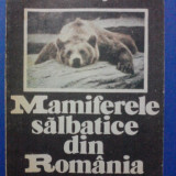 Mamiferele salbatice din Romania - Mitica Georgescu / C10P - Carte Zoologie