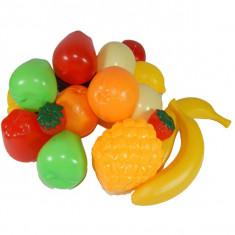 Set 17 fructe din plastic