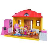 Masha si ursul - Casa Masha cu set de joaca figurine 9301633 Simba