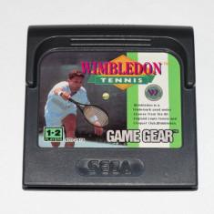 Joc SEGA Game Gear Gamegear - Wimbledon Tennis - Jocuri Sega, Actiune, Toate varstele, Single player