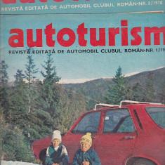 Bnk div Revista Autoturism - anul 1978 - 9 numere, stare buna