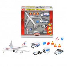 Set jucarii aeroport cu accesorii