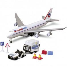 Avion Globestar Airport Team 3315388 Dickie - Avion de jucarie