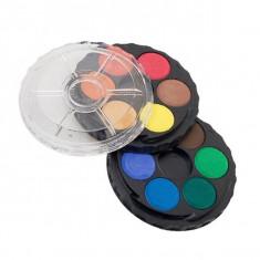 Set acuarele 12 culori Ico cutie rotunda Altele