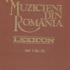 Viorel Cosma - Muzicieni din Romania (A-C) - 688145 - Carte Arta muzicala