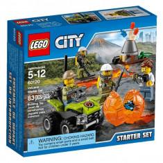 Vulcanul - Set pentru începători 60120 Lego City