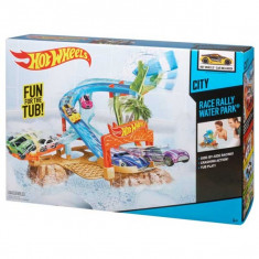 Pista Hot Wheels Race Rally Water Park Circuit acvatic W3413 Mattel - Masinuta