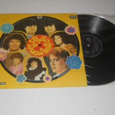 Album Sofia- Bucuresti - diversi cantareti romani si bulgari, 10 melodii - Muzica Dance electrecord, VINIL