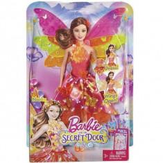Papusa zana Nori 2 in 1 Barbie si usa secreta BLP26 Mattel, 4-6 ani, Plastic, Fata