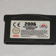 Joc Nintendo Gameboy Advance GBA - Fifa World Cup 2006 Germany - Jocuri Game Boy Altele, Actiune, Toate varstele, Single player