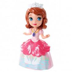 Papusa Disney Figurina Printesa Sofia Intai petrecere cu ceai CJB76 Mattel, 4-6 ani, Plastic, Fata