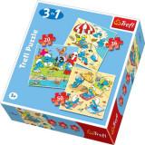 Puzzle Strumfi 3 in 1 Trefl