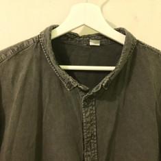 Camasa gri H&M XL - Camasa barbati H&m, Maneca lunga