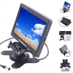 Monitor LCD 7 inch pentru Auto sau pentru Sistem de Supraveghere Video CCTV - Monitor supraveghere