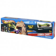 Pista Hot Wheels Cobra Cave DNN79 Mattel - Masinuta