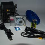 Aparat foto Panasonic DMC-LS80 + husa + card 2GB + acumulatori si incarcator