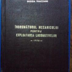Indrumatorul mecanicului pentru exploatarea locomotivelor CFR / C10P