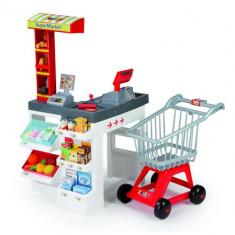 Supermarket cu cos de cumparaturi 24209 Smoby