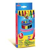 Set 6 markere lavabile - Jumbo