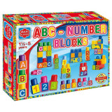 Set cuburi Maxi blocks ABC NUMBER 682 Dohany - Set de constructie