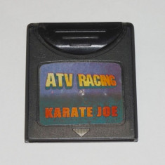 Joc Nintendo Gameboy Color Rocket Games ATV Racing & Karate Joe - Jocuri Game Boy Altele, Actiune, Toate varstele, Single player