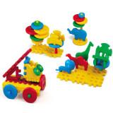 Set constructii tip vafa - la zoo 50 pcs - Set de constructie
