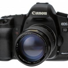 135mm F2.8 MC m42  Revuenon Tomioka 746817 pentru Canon Nikon Sony Fuji, Tele, Manual focus