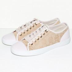 Tenisi MICHAEL KORS Logo Sneakers - Tenesi Dama, Femei - 100% AUTENTIC - Tenisi dama Michael Kors, Culoare: Din imagine, Marime: 38, 39