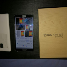 Samsung Galaxy note3 - Telefon mobil Samsung Galaxy Note 3, Negru, 32GB, Neblocat, Single SIM
