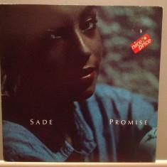 SADE - PROMISE (1985/CBS REC/HOLLAND) - Vinil/Vinyl/Pop/IMPECABIL(NM) - Muzica Jazz Columbia