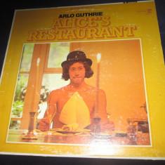 Arlo Guthrie – Alice's Restaurant _ vinyl(LP, album) SUA - Muzica Pop Altele, VINIL