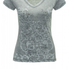 Tricou Dama Key Largo Kaki STAR Print Vintage, Marime: XS, S, M, L, XL, Culoare: Din imagine