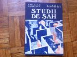 STUDII DE SAH EMILIAN DOBRESCU VIRGIL NESTORESCU editura sport turism 1984 RSR
