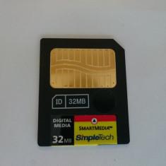 Card memorie SmartMedia Smart Media Card 32MB - made in Korea - Multimedia card