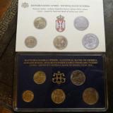 set monede Serbia 2010