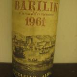 Rare BARILIN, riserva del centenario, recoltare 1961 cl 72 gr 12, - Vinde Colectie, Aroma: Sec, Sortiment: Rosu, Zona: Europa