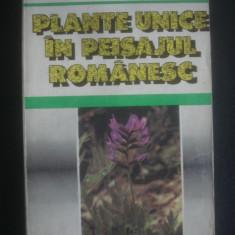 TUDOR OPRIS - PLANTE UNICE IN PEISAJUL ROMANESC