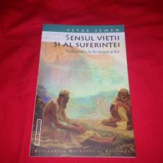 Pr. Petre Semen, SENSUL VIETII SI AL SUFERINTEI, COMENTARIU LA ECCLESIAST SI IOV - Carti Crestinism