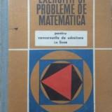 Gr. gheba exercitii si probleme de matematica - Carte Matematica