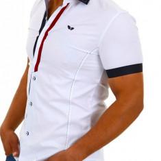 Camasa cu maneca scurta Barbati Carisma Alba 9007 - Camasa barbati Carisma, Culoare: Din imagine