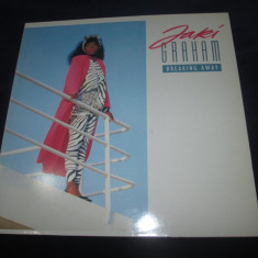 Jaki Graham ‎– Breaking Away _ vinyl(LP, album) Marea Britanie (funk, soul) - Muzica Pop emi records, VINIL