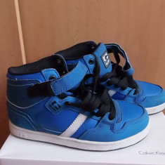 Shoes Globe - Adidasi dama Globe, Culoare: Albastru, Marime: 37