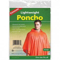 Coghlans Pelerina de ploaie Poncho Vinyl Orange 9267 marime universala - Pelerina ploaie