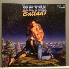 METAL BALLADS - The Best (1989/BMG ARIOLA/RFG) - Vinil/Vinyl/Rock/Impecabil(NM) - Muzica Rock