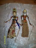 Papusi marionete lemn sculptat Wayang Golek Indonesia