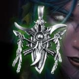 Lant cu Pandantiv Logo Nightelf Elf - Warcraft, World of Warcraft, WoW, Dota