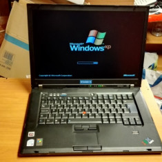Laptop Lenovo ThinkPad T60 Intel Core 2 Duo T5600 1, 83GHz, 1501- 2000Mhz, 15-15.9 inch, 3 GB