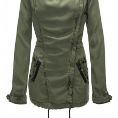 Jacheta Dama Khujo Olive Between-Seasons Parka Portie, Marime: M, L, XL, Culoare: Din imagine