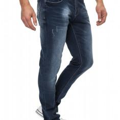Blugi Barbati Crosshatch Slim Fit Jeans Joggan DW, Marime: 30, 32, 34, 36, Culoare: Din imagine